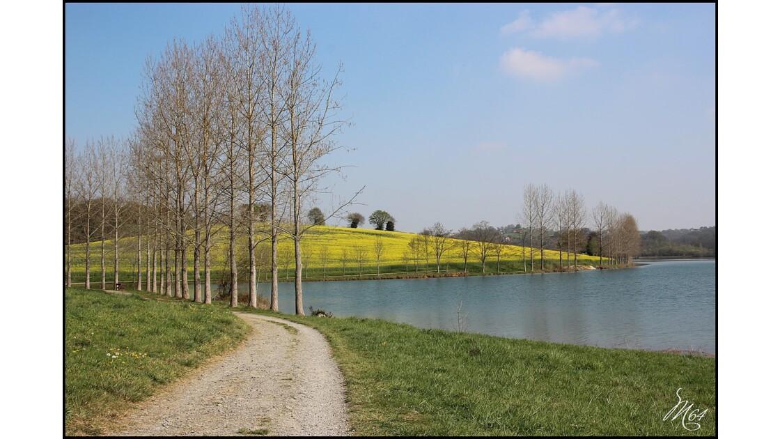 Lac de Serres-Castet (près de Pau)
