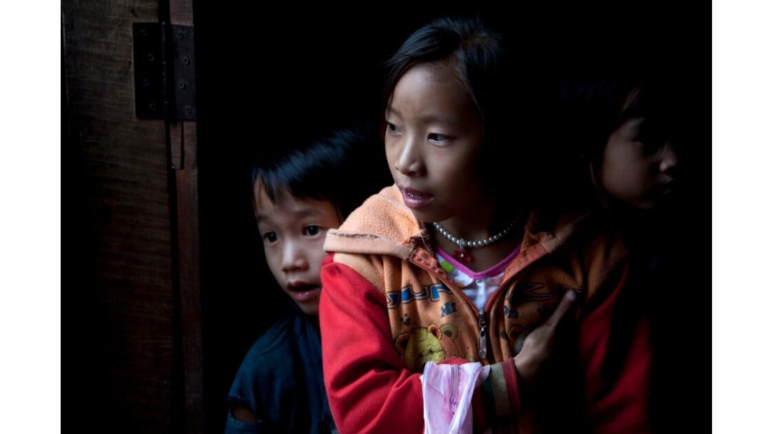Enfant d'une tribu Lanten