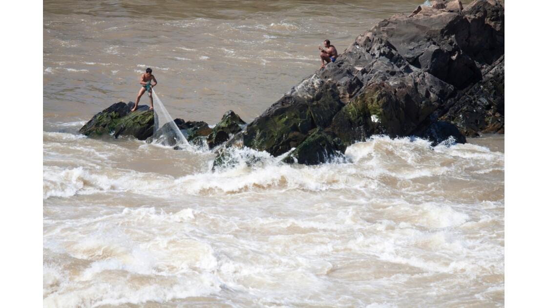 Les pêcheurs du Mékong