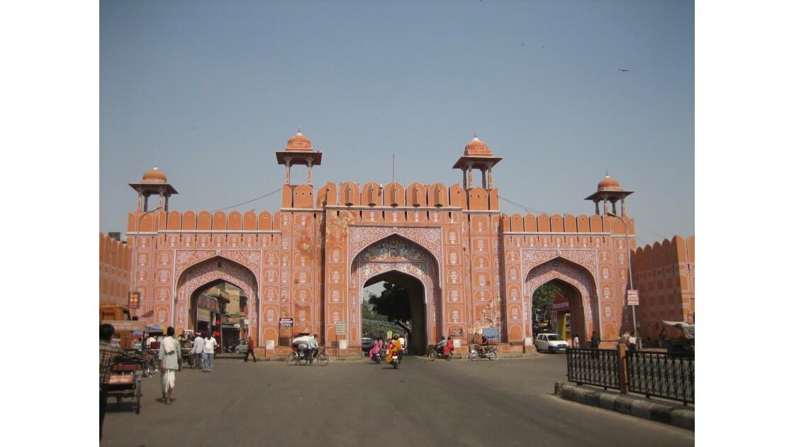 Entrée de la vieille ville de Jaipur