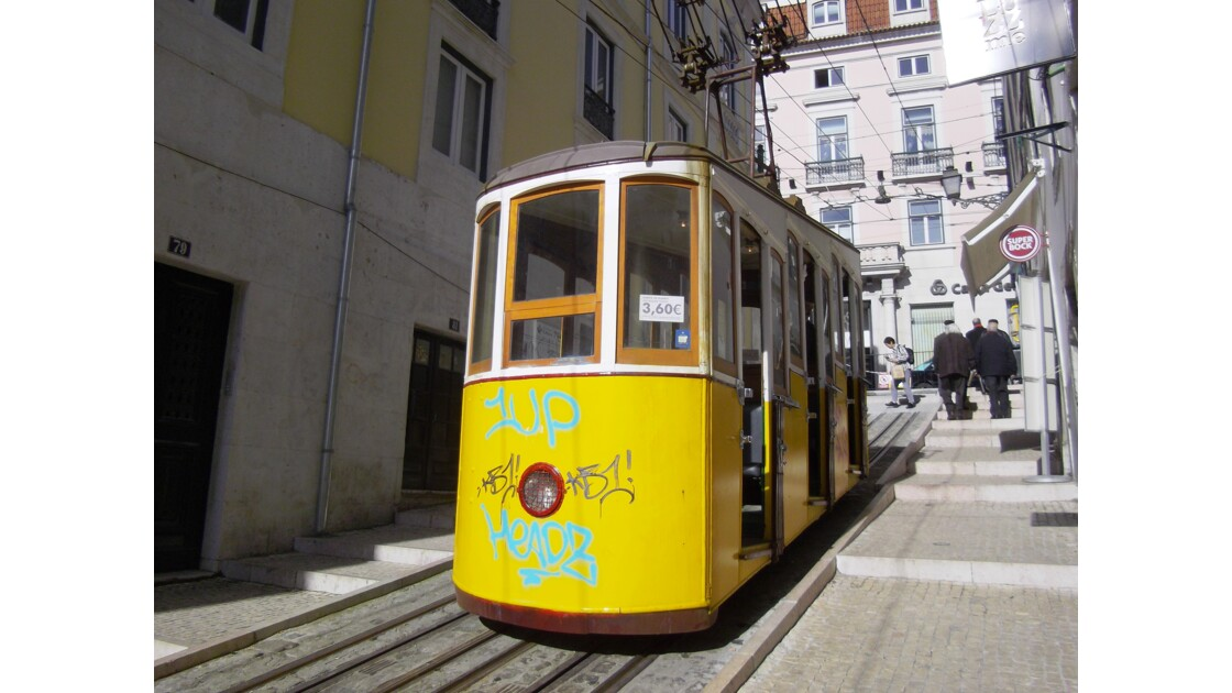 Funiculaire de Bica, Lisbonne