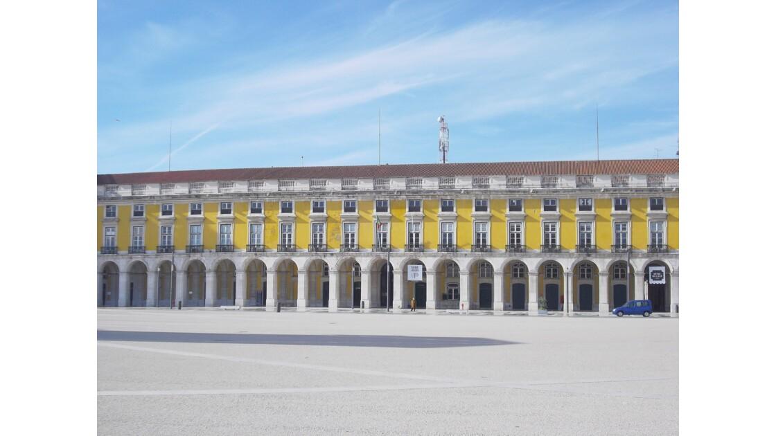 Paca do commercio, Lisbonne