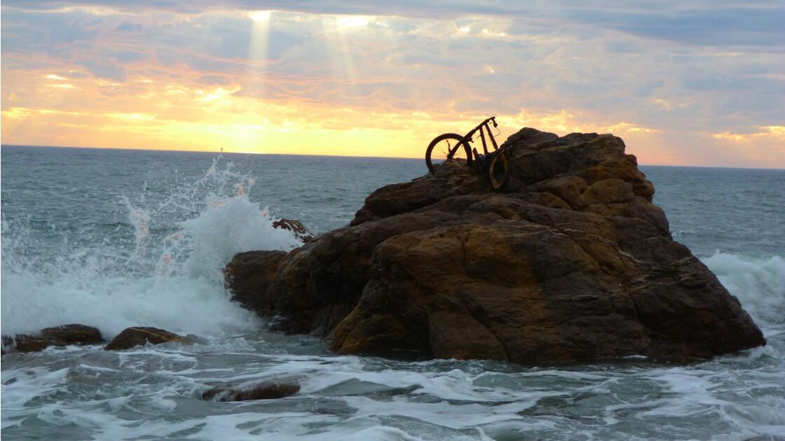 Vélo échoué Australie