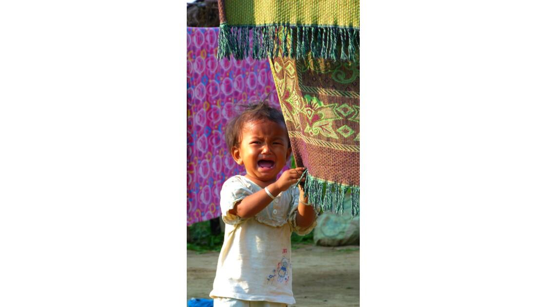 Enfant du Terai, Népal