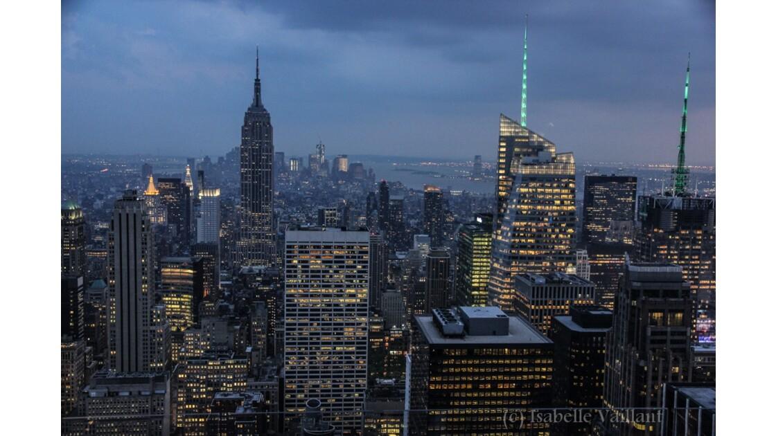 Manhattan vue depuis le Top of the Rock