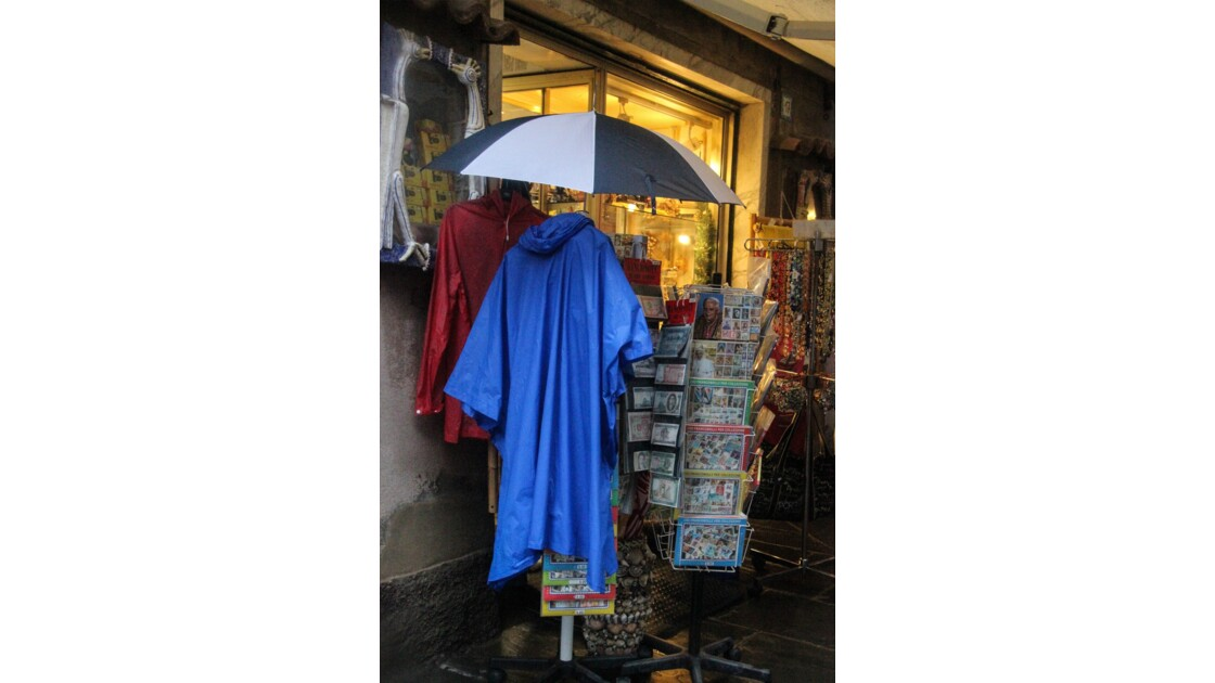 """Quand il pleut sur les """"Cinque Terre"""""""