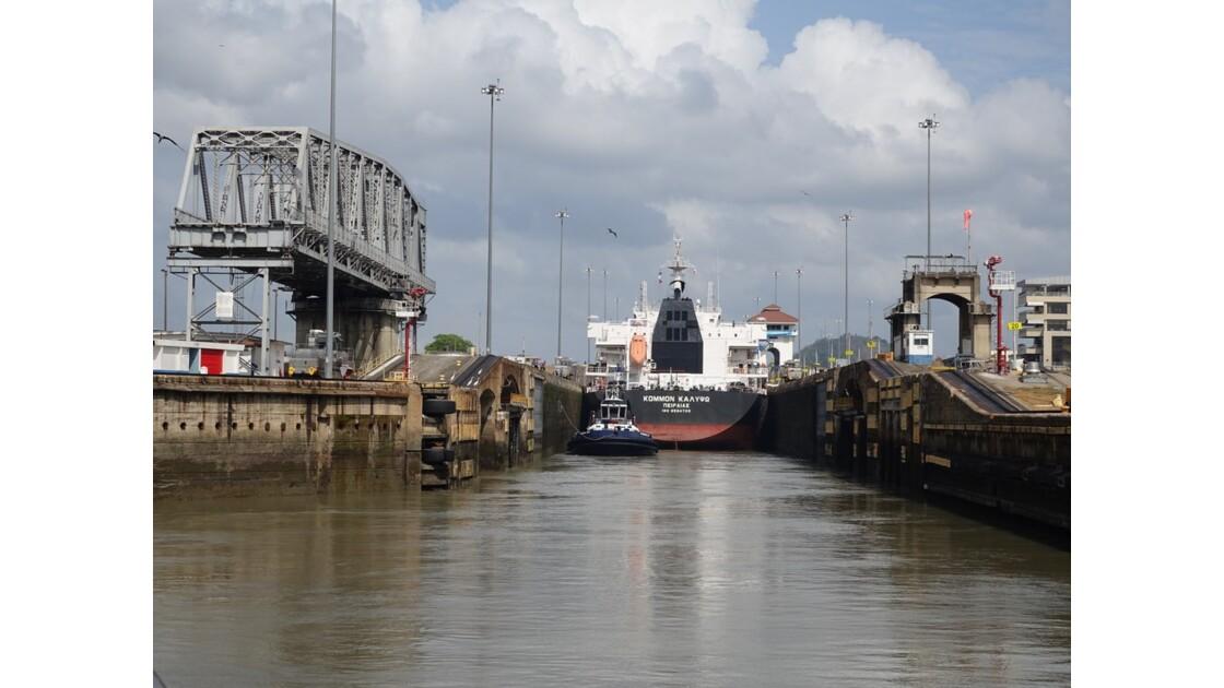 Panama Entrée dans Miraflores 2