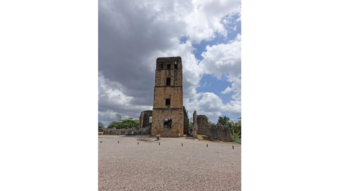 Panama Viejo Cathédrale 1