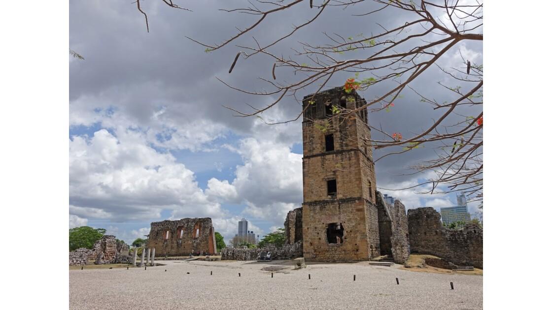 Panama Viejo Cathédrale 4
