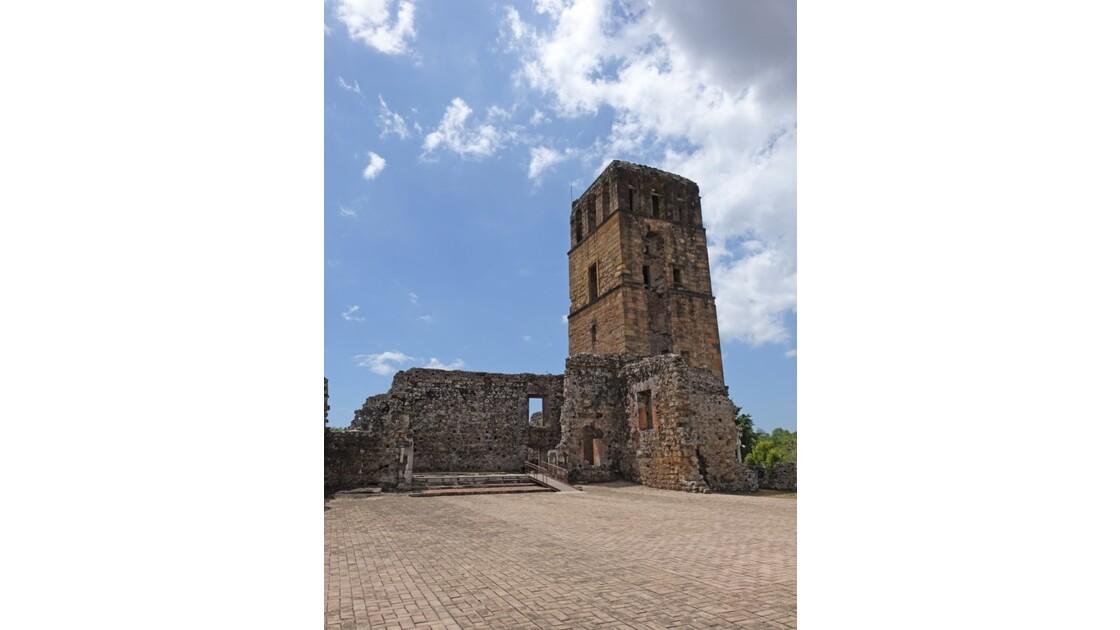 Panama Viejo Cathédrale 5