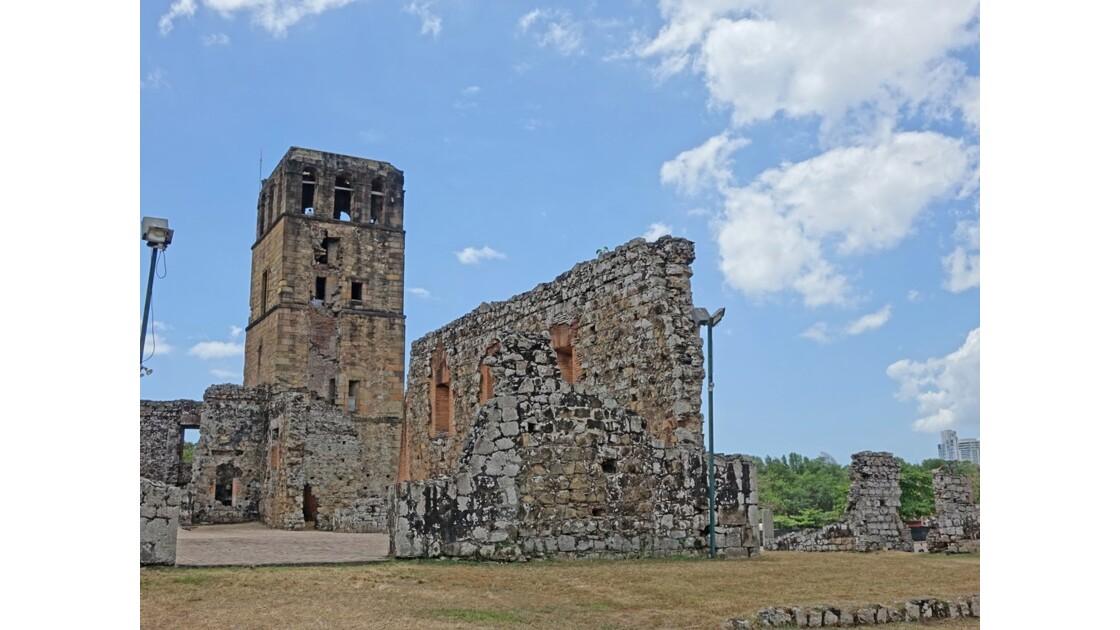 Panama Viejo Cathédrale 7