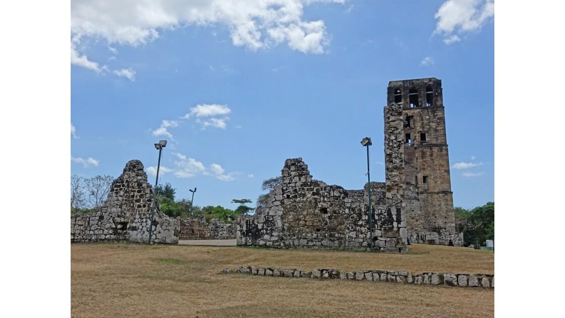 Panama Viejo Cathédrale 8