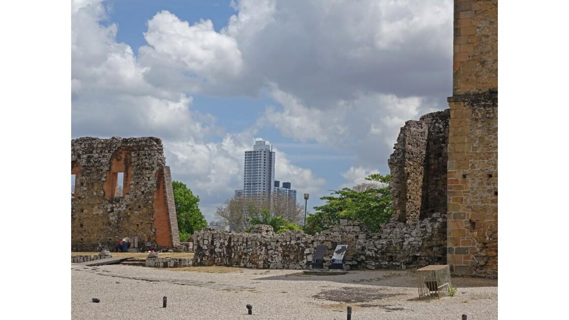Panama Viejo Cathédrale 9