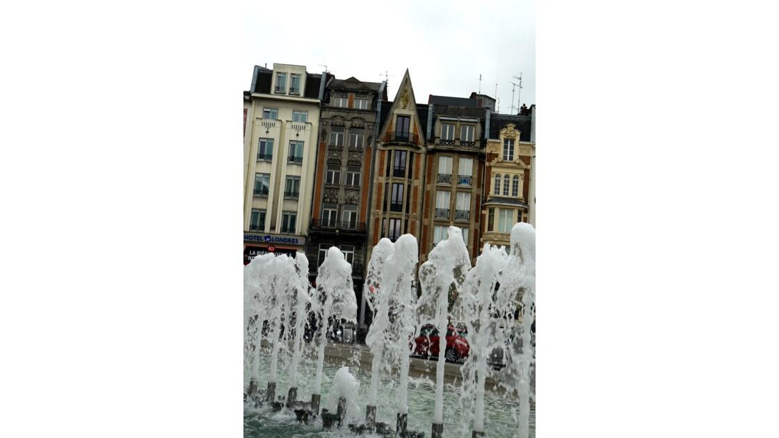 Lille devant la Gare des Flandres