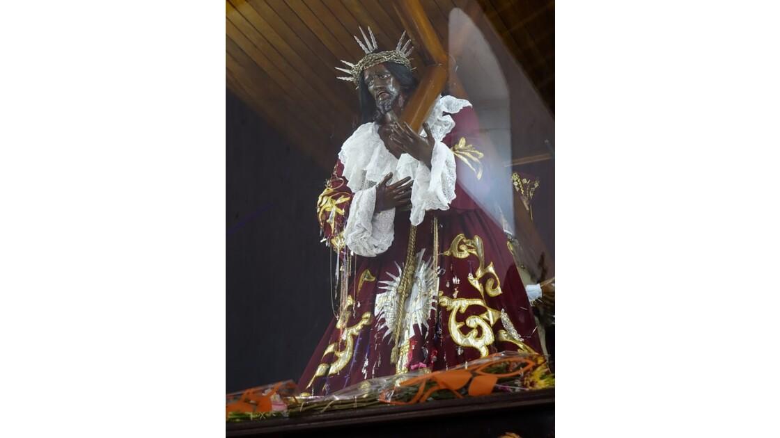 Panama Porobello Reflets sur le Christ noir 1