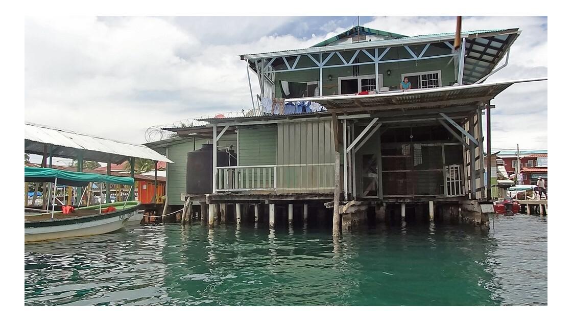 Panama Arrivée à Bocas Del Toro 2