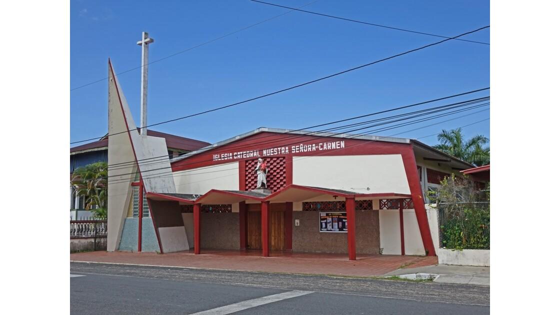 Panama Bocas Del Toro Cathédrale 1