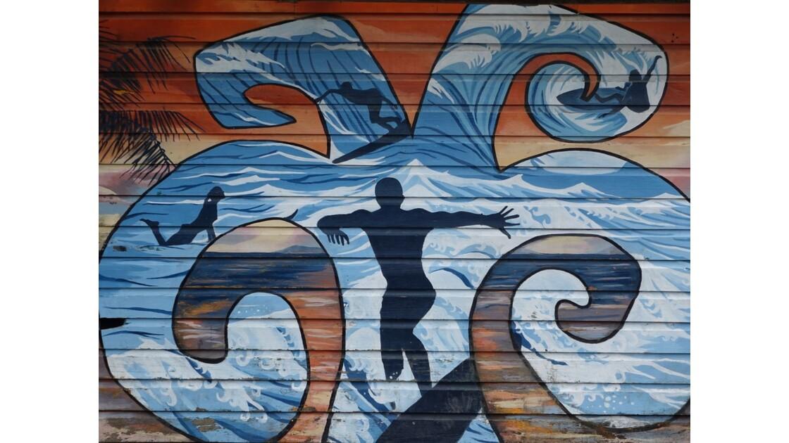 Panama Bocas Del Toro Street Art 2