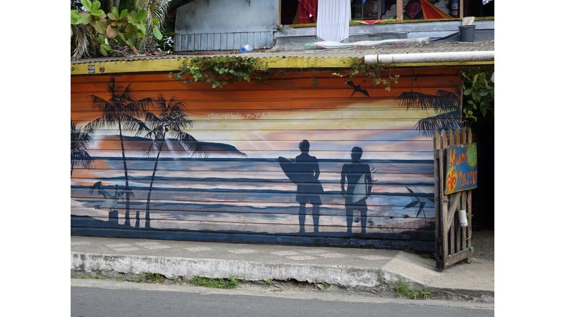Panama Bocas Del Toro Street Art 3