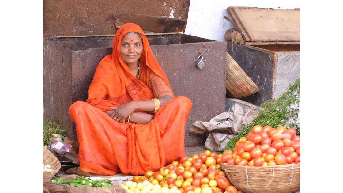 marché en inde du nord