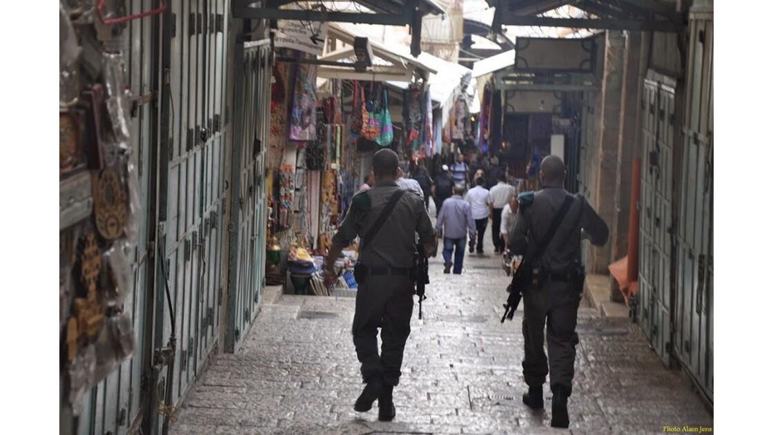 Jérusalem -  Sécurité...