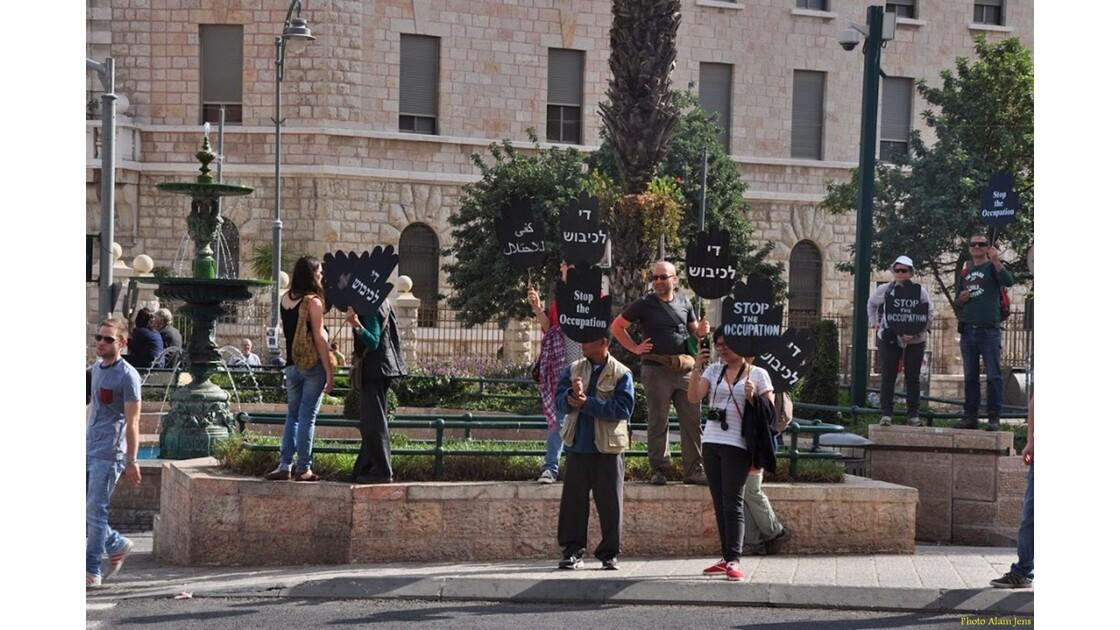 Jérusalem - Manifestation Pro-Palestine