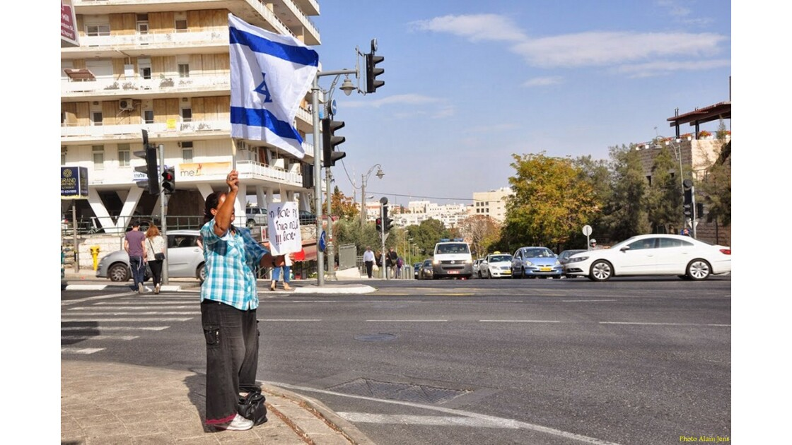 Jérusalem - Manifestation Pro-Israel