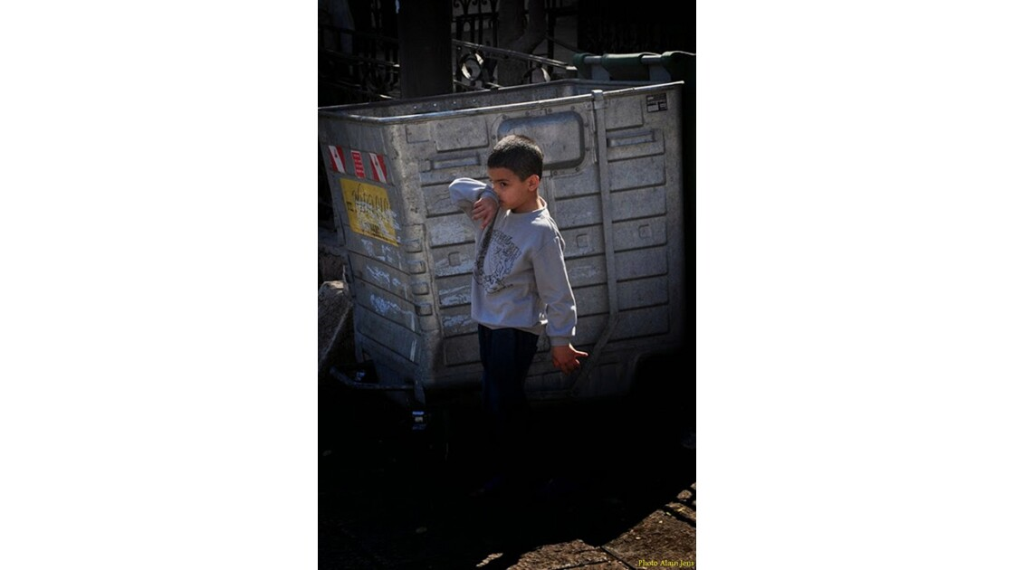Jérusalem - Misère d'enfant