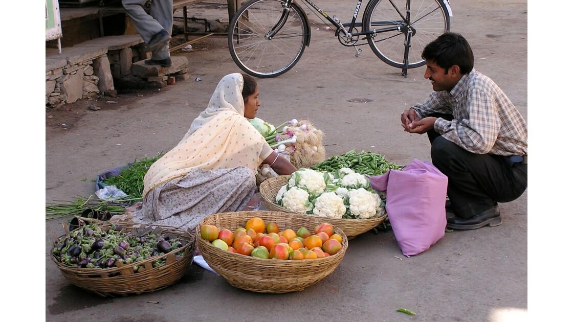 petit commerce en inde du nord
