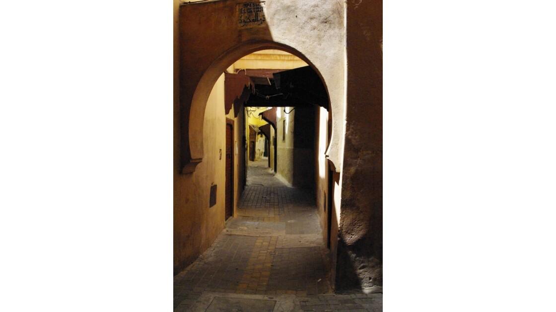 Meknès - la médina