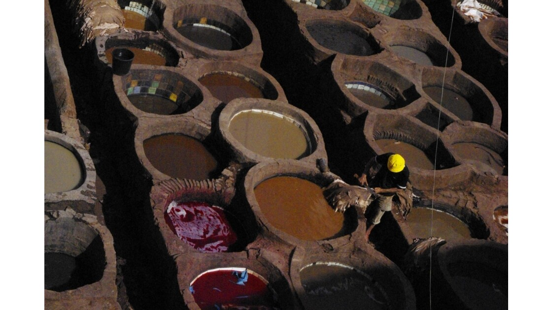 Fès - Tanneries Chouara