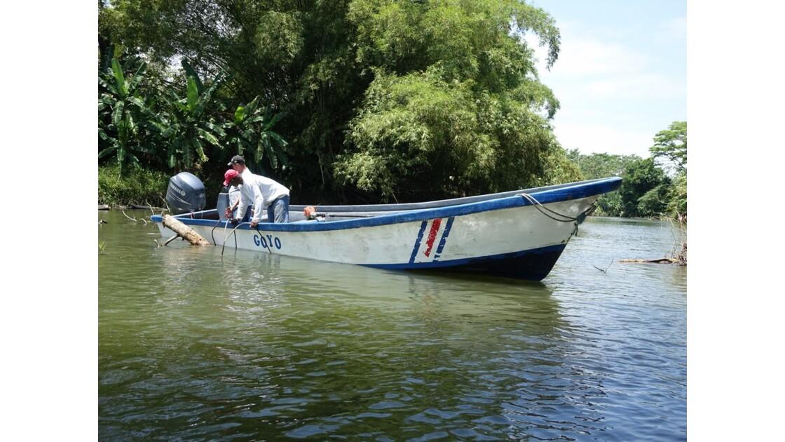 Costa Rica Tortuguero Sur le canal principal 2