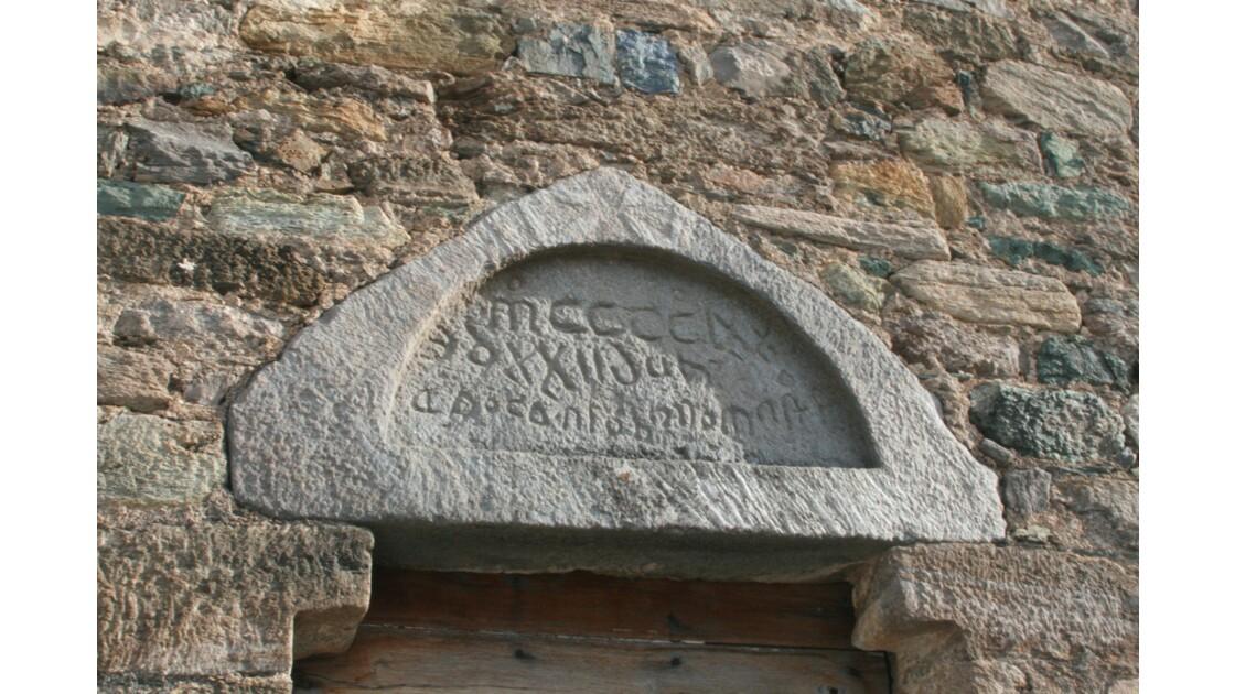 chapelle romane en corse
