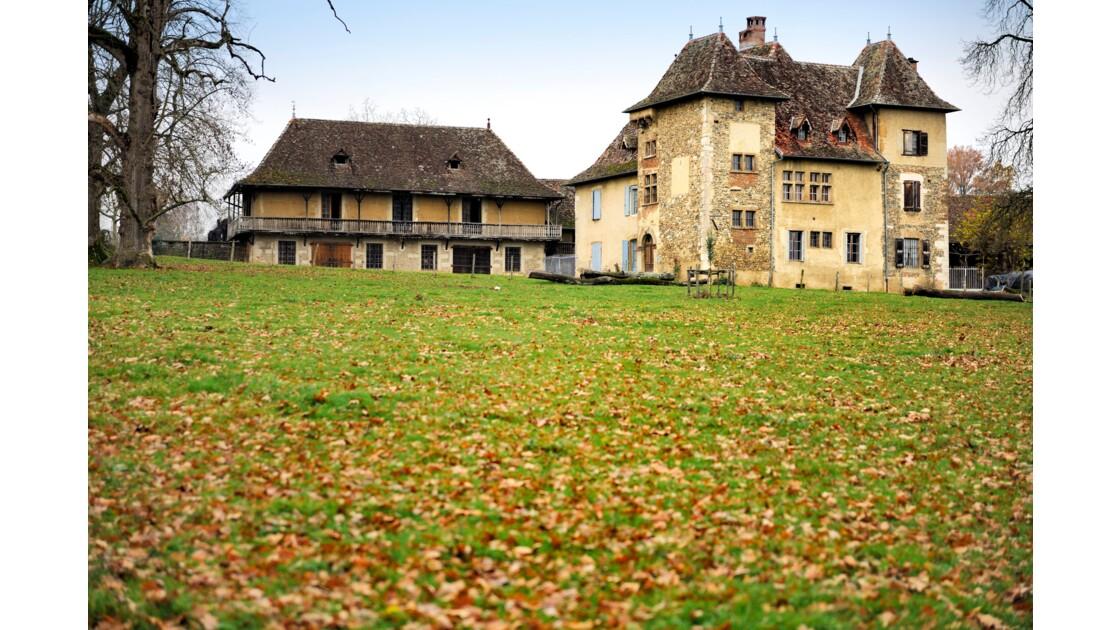 château et magnanerie