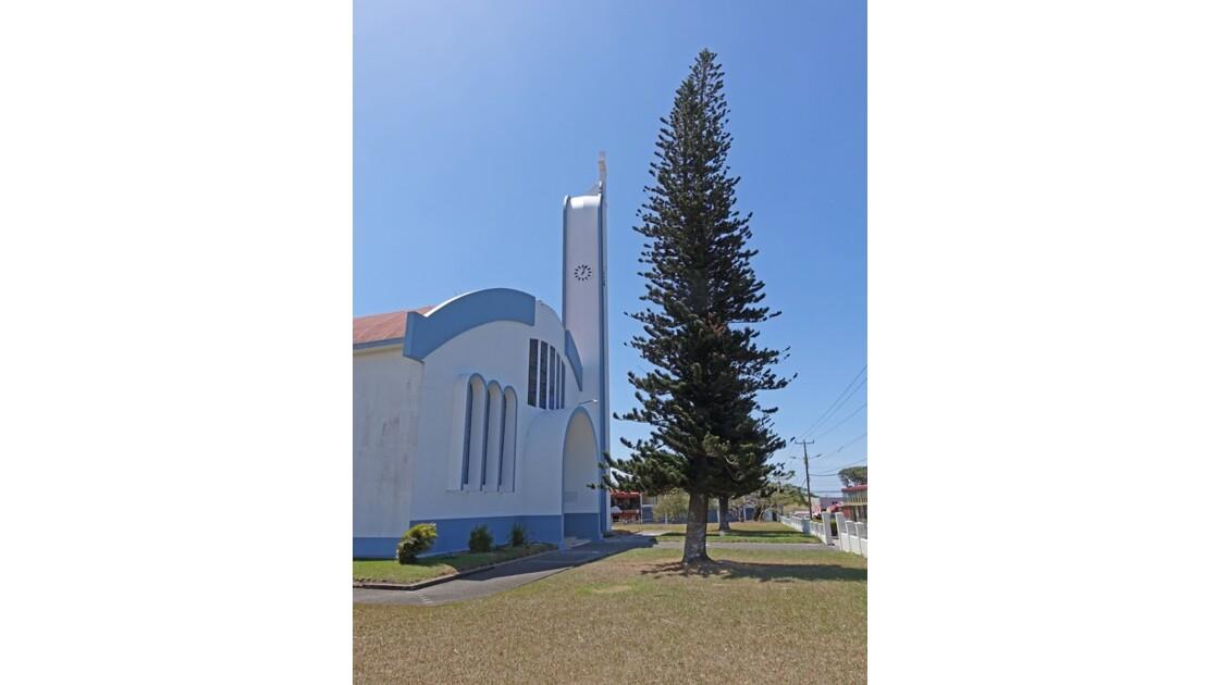 Costa Rica église de Tilaran