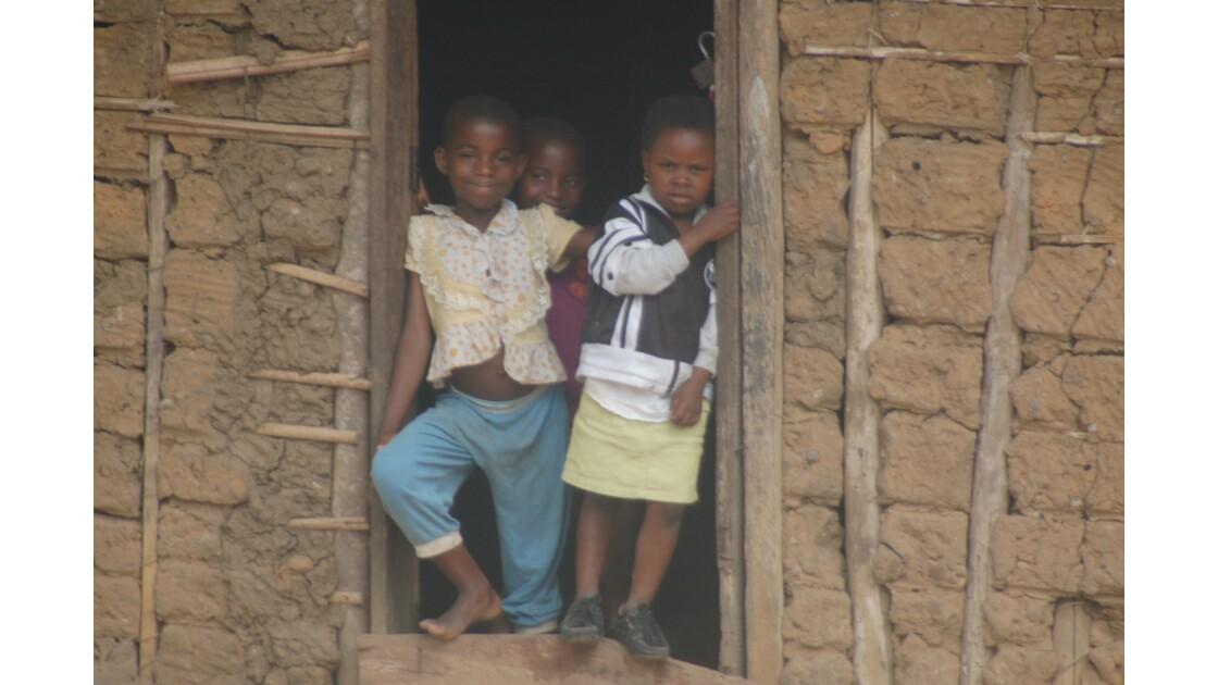 les enfants du village de Mesock