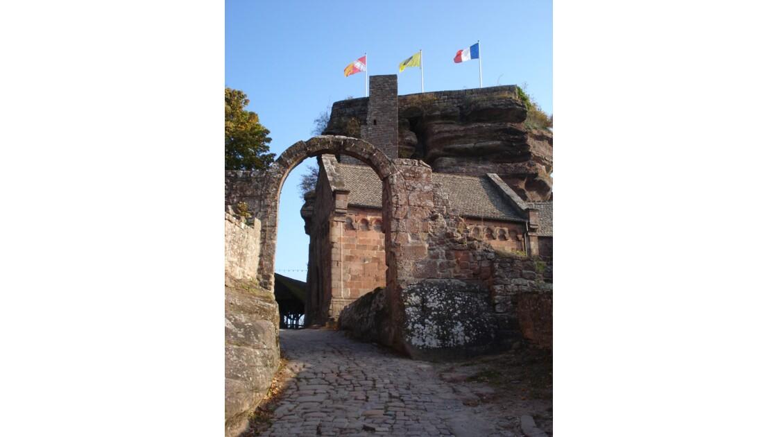 le château du haut-barr