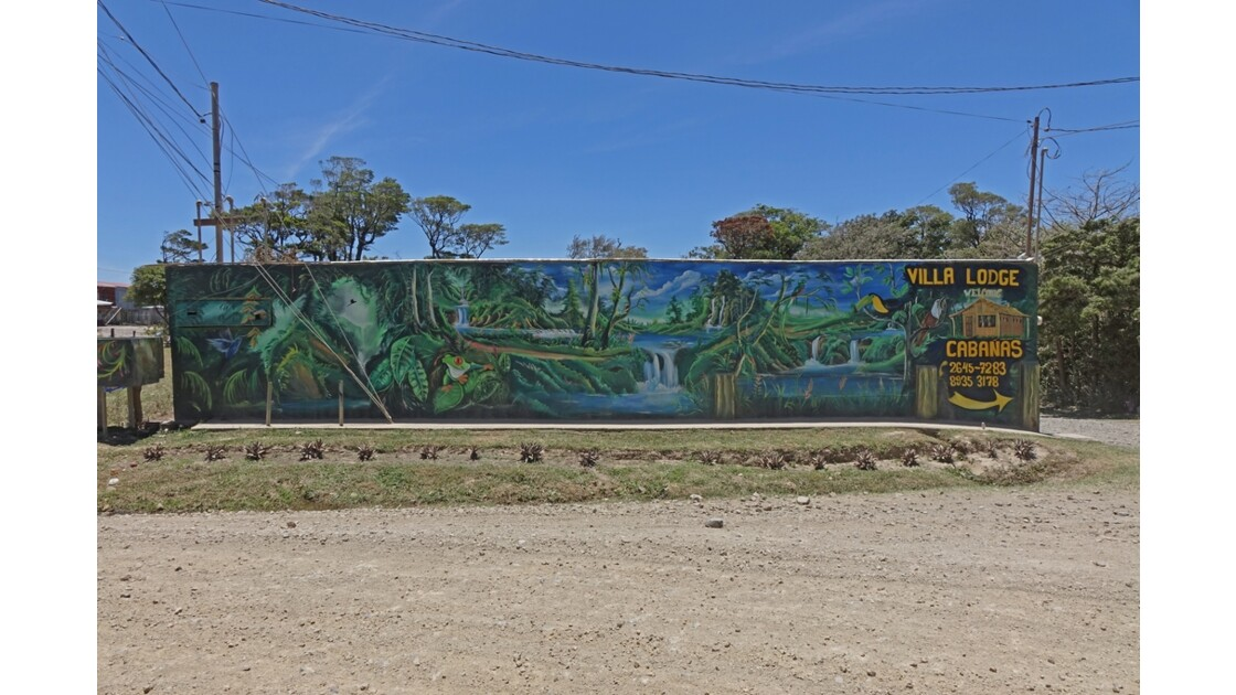 Costa Rica Santa Helena Art Street 1
