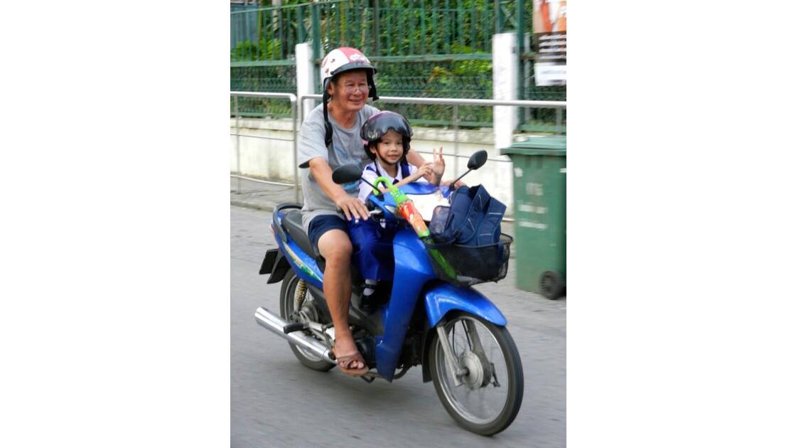 Traffic à Chiang Mai