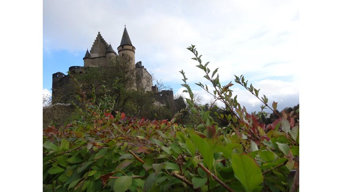 Le château de Vianden au Luxembourg