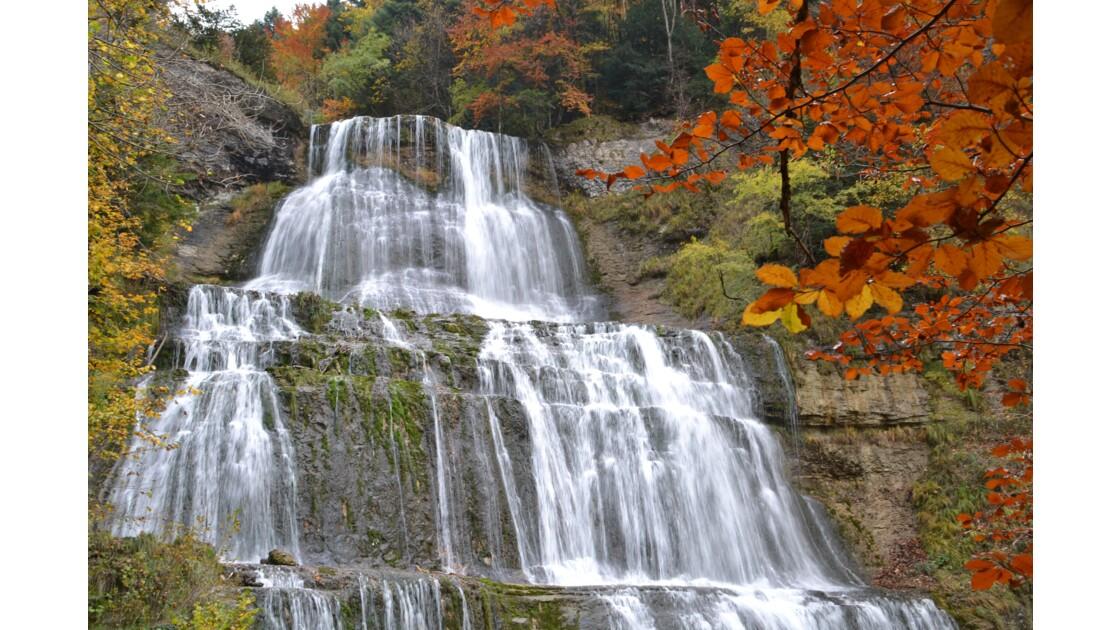 Cascades en automne