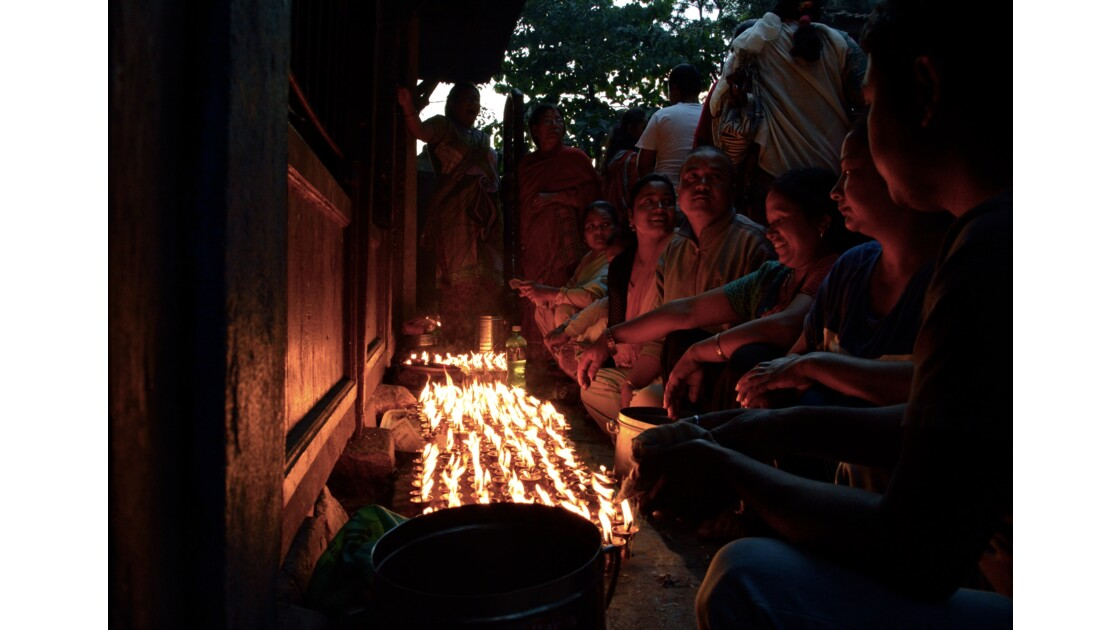 Pujas au temple Mahakali