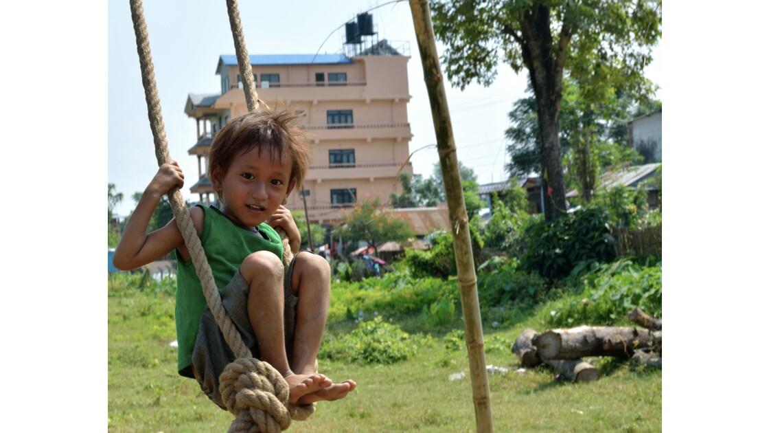 La balançoire de Dashain