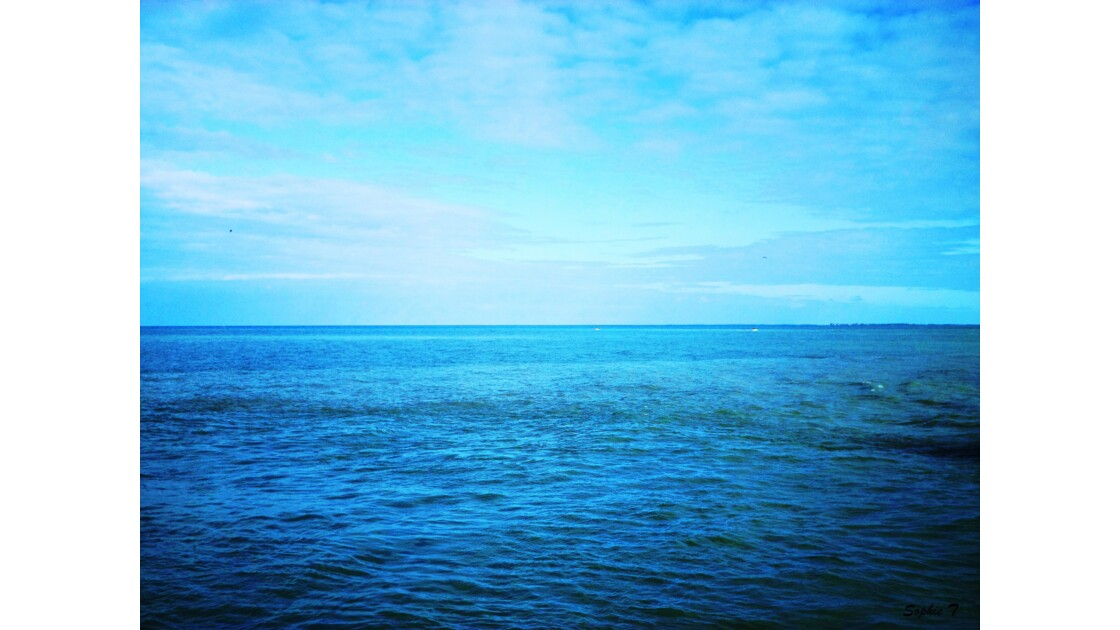 L'horizon...