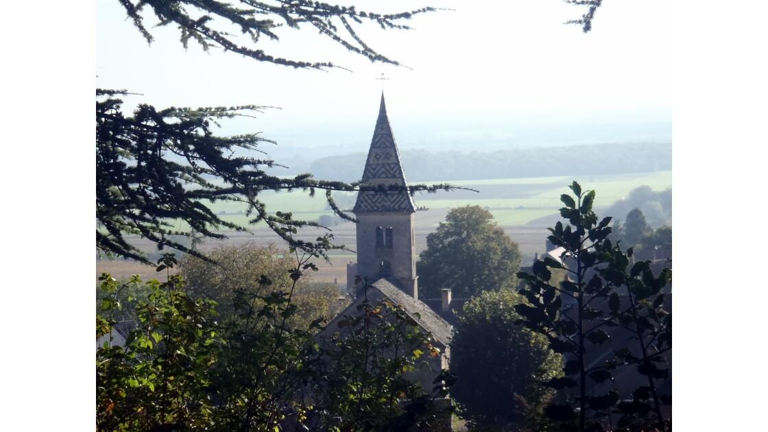 Eglise de Fixey en Côte d'or.