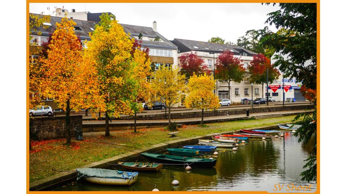 L'automne s'installe au bord de l'Erdre