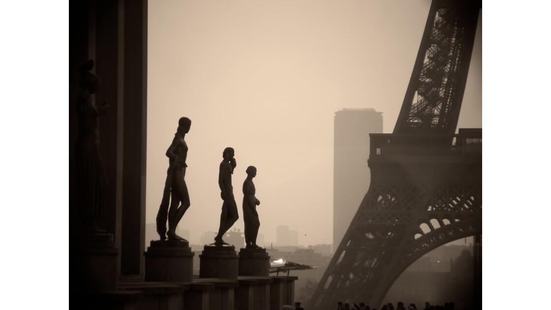 Paris tout en gris