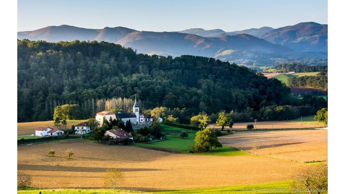 Couleur d'automne au pays basque
