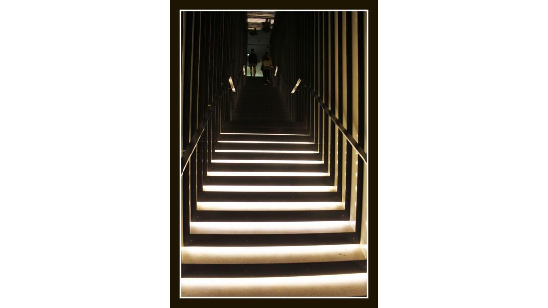 Escalier de musée