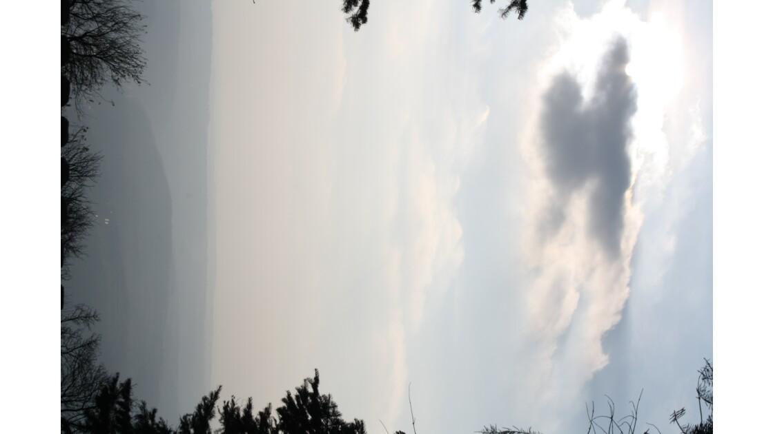 en automne sur le mont Avala